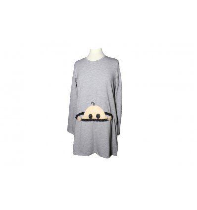 Tunika A kroja sa bebicom - za trudnice - model 1