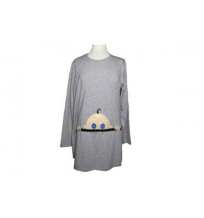 Tunika A kroja sa bebicom - za trudnice