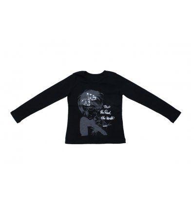 Majica uska crna - Trip