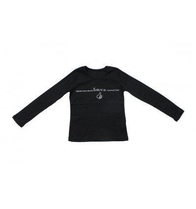 Majica uska crna - Sviđa mi se