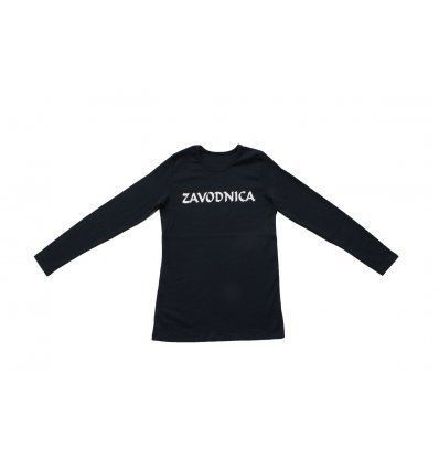 Majica uska tamno plava - Zavodnica