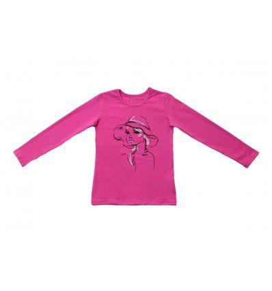 Majica uska roza - Cura