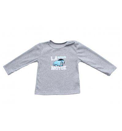 Baby majica siva melanž - Road Sports