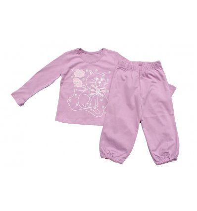Pidžama blijedo lila - maca