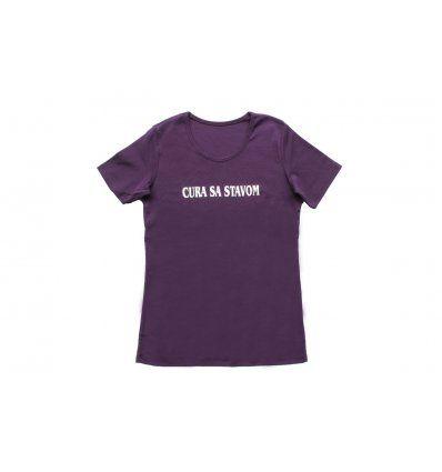 Majica ljubičasta - Cura sa stavom