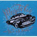 Majica svjetlo plava - Muscle car