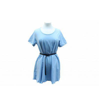 Tunika-haljina - Blue Sky - kratki rukavi
