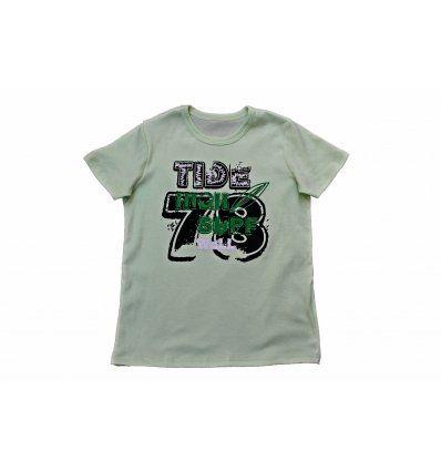 Majica svijetlo kiwi zelena - High surf