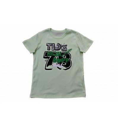Majica svjetlo kiwi zelena - High surf