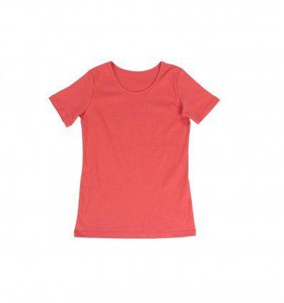Majica kratkih rukava boje breskve