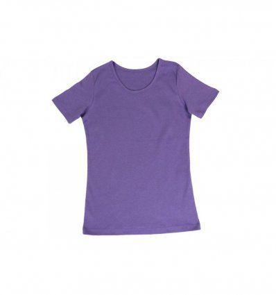Majica kratkih rukava boje lavande