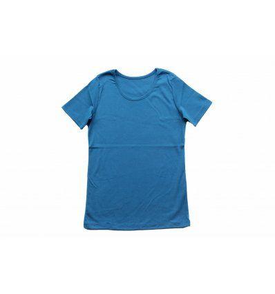 Majica kratkih rukava indigo plava