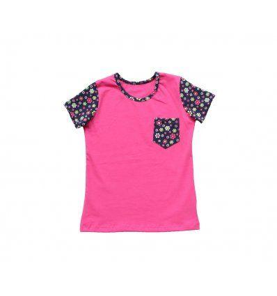 Majica sa džepićem - roza