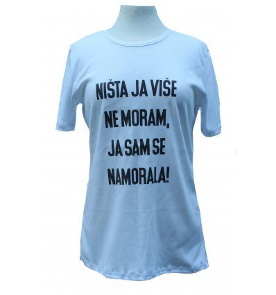 Majica bijela - Ništa ja više ne...