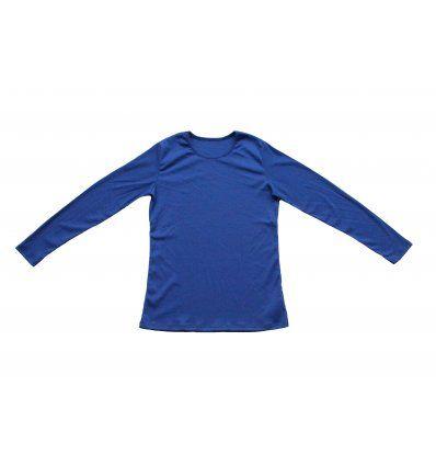 Majica uska plava