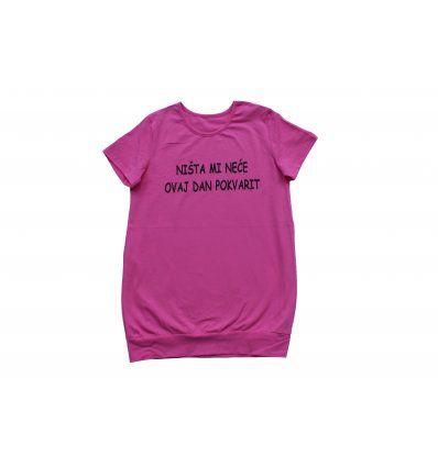 Tunika sa pasicom roza - Ništa mi...