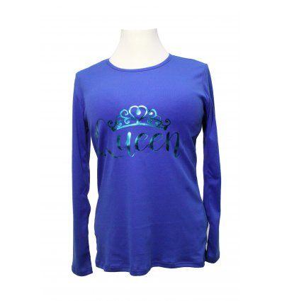 Majica kraljevsko plave boje - Queen