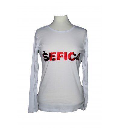Majica bijela - Šefica