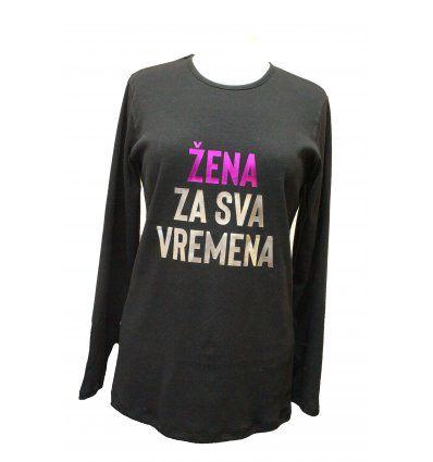 Majica crna - Žena za sva vremena