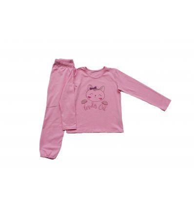 Pidžama roza - Lovely cat