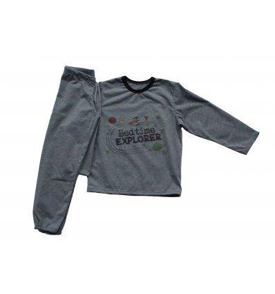 Pidžama tamno siva - Bedtime Explorer