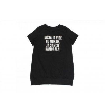 Tunika crna - ništa ja više ne moram