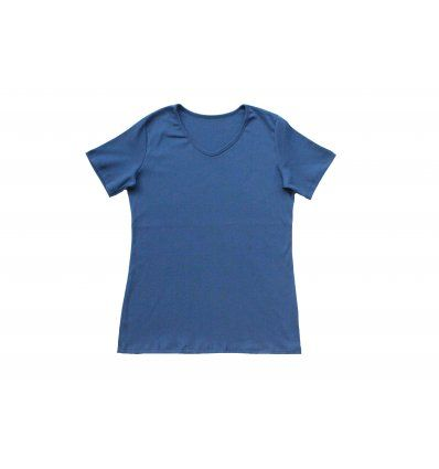 Majica kratkih rukava - traper plava...