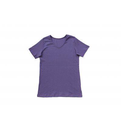 Majica kratkih rukava - blijedo lila...