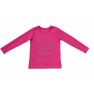Majica dugih rukava - roza- Be who...
