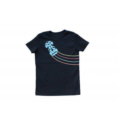 Majica tamno plava - kratkih rukava -...