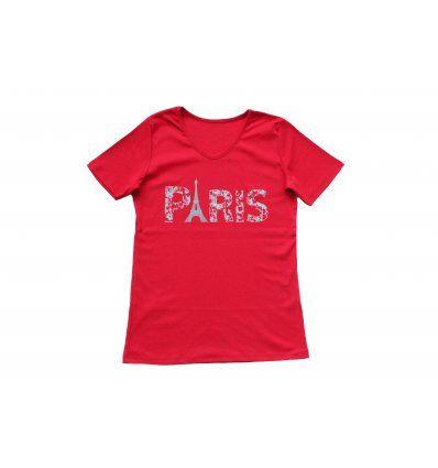 Majica crvena - Paris