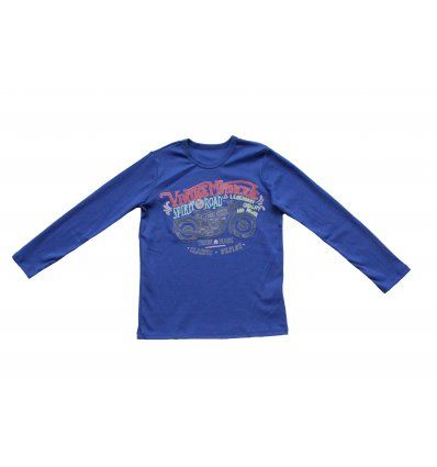 Majica kraljevsko plava - Vintage...