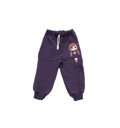 Baby hlače tamno ljubičaste - Ivy