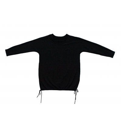 Tunika šišmiš crna