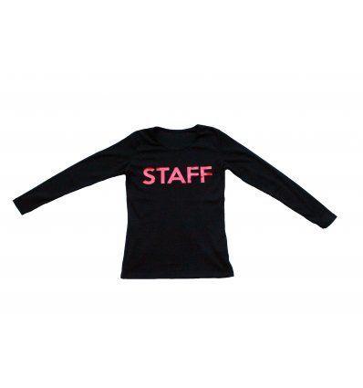 Majica crna - STAFF