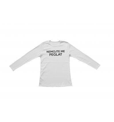 Majica bijela - Nemojte me peglat
