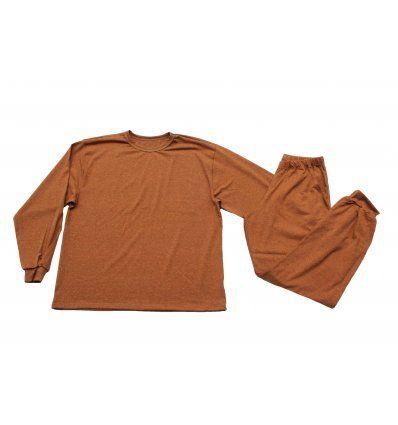 Pidžama melanž narančasta