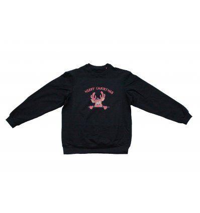 Majica široka crna - Merry Christmas