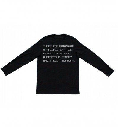 Majica crna - Binary