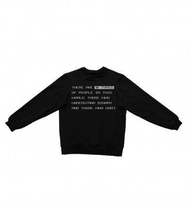 Majica široka crna - Binary