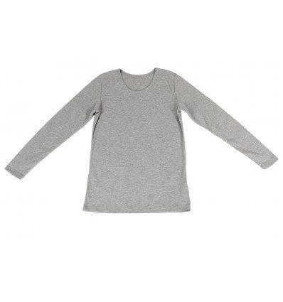Majica uska siva