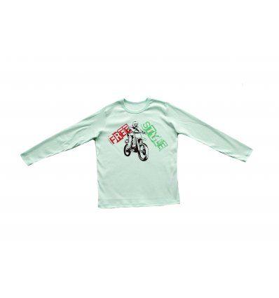 Majica svijetlo kiwi - Free style