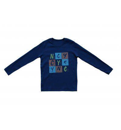 Majica traper plava - NYC