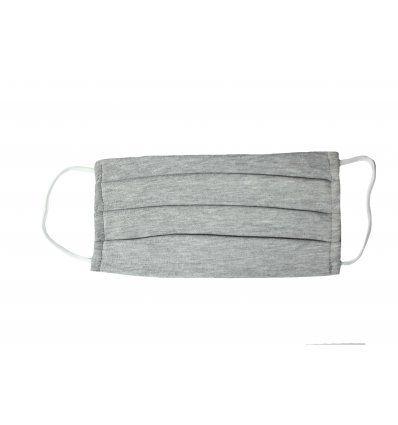 Pamučna maska za lice - Svijetlo siva