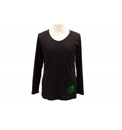 Majica crna - Djetelina