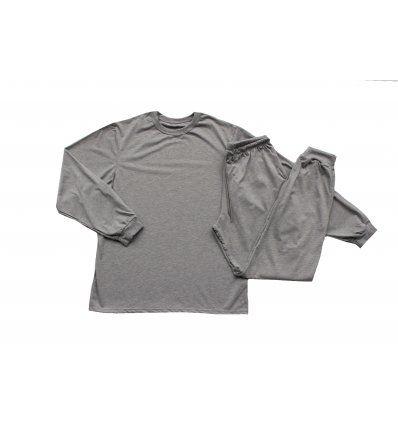 Pidžama svijetlo siva