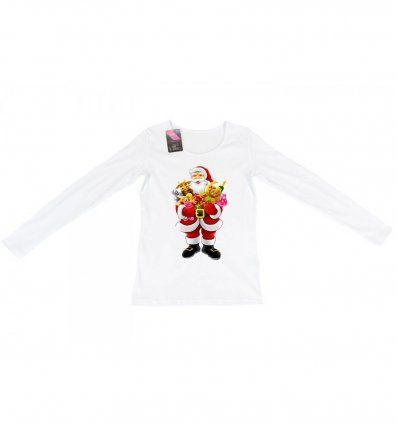 Majica bijela - Djed Mraz