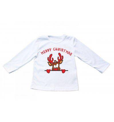 Baby majica bijela - Rudolf