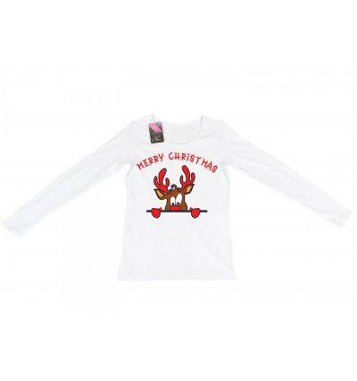 Majica dugih rukava bijela - Rudolf