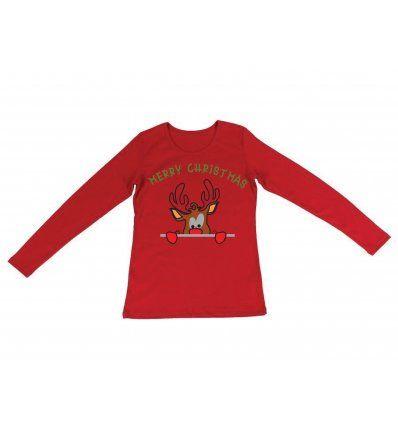 Majica crvena - Rudolf